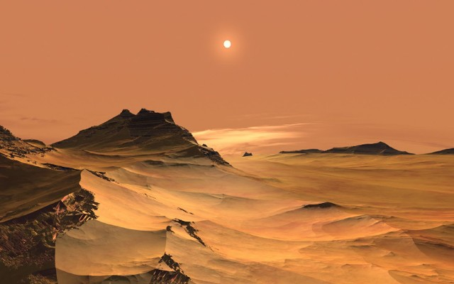نيزك يكشف عن حياة نشطة في المريخ