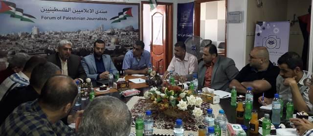 غزة .. تجاوز الشكاوى القضائية بحق تلفزيون فلسطين والحياة الجديدة