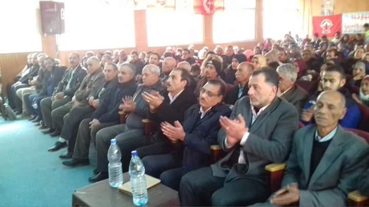 مهرجان جماهيري «للديمقراطية» في الذكرى الخمسين بمخيم خان دنون