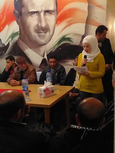 حفل استقبال وايقاد شعلة الانطلاقة في مخيم السبينة