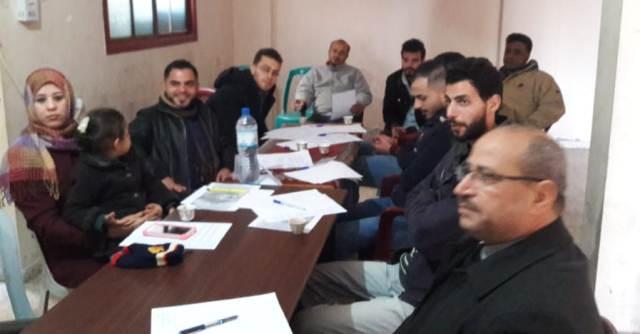 ورشة عمل لـ«المعلمين الديمقراطيين» شمال قطاع غزة بعنوان «التنمية المهنية للمعلمين»