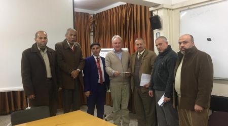 غزة: اللجنة المشتركة للاجئين تعقد اجتماعاً مع «شمالي» وتبحث خدمات «الأونروا»