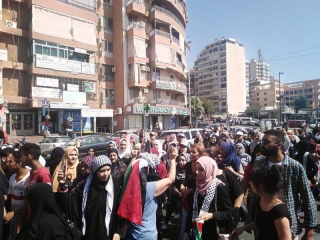 «الديمقراطية» تدعو الى استراتيجية عمل وطني في لبنان لمواجهة مشاريع التهجير الجماعي