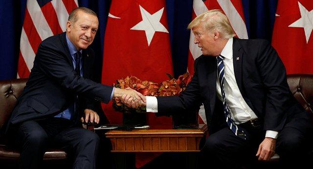 ترامب لإردوغان : أوقف الهجوم بسورية ولا تكن أحمق .. عدد النازحين يصل إلى 300 ألف