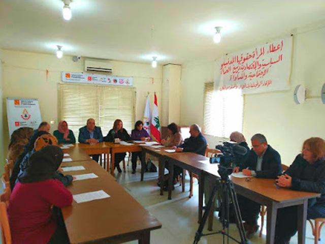 نساء وعمال لبنان وفلسطين يدينون تكريم المتصهينات ويطالبون الحكومة بموقف واضح