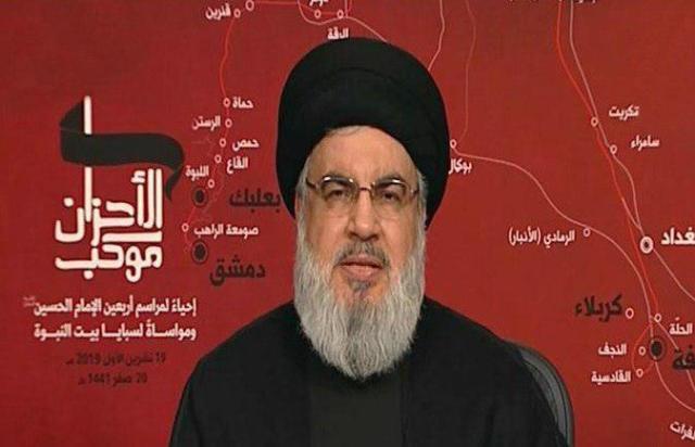 نصر الله: لبنان أمام خطرين كبيرين..  ولا أؤيد استقالة الحكومة