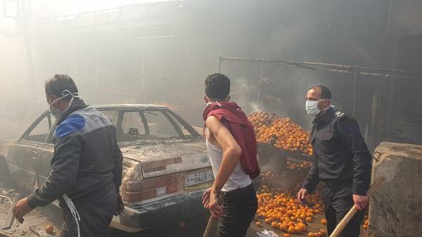 «حريق النصيرات» ... المخيم يكتسي بالسواد حداداً على ضحاياه