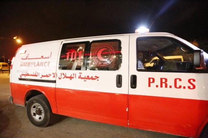 إصابة مواطن  بعد بعد محاولة إحراق نفسه بغزة