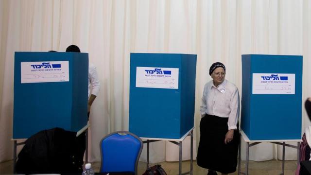 قائمتان عربيتان تخوضان انتخابات الكنيست الإسرائيلي الثلاثاء