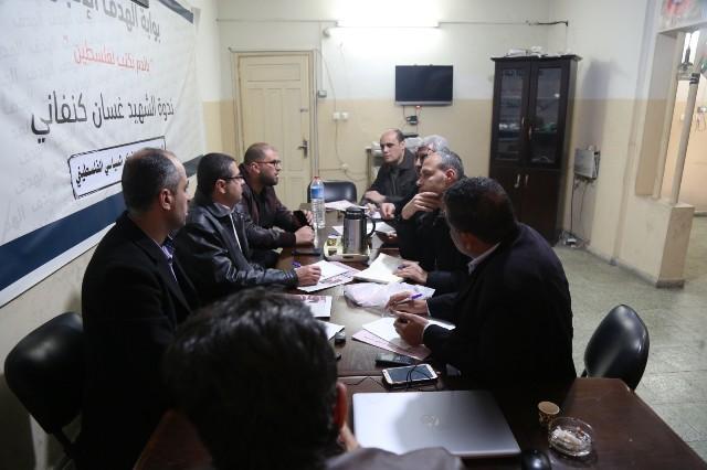 النقابة والأطر الصحفية تطالبان بالإفراج الفوري عن الصحفيين في غزة
