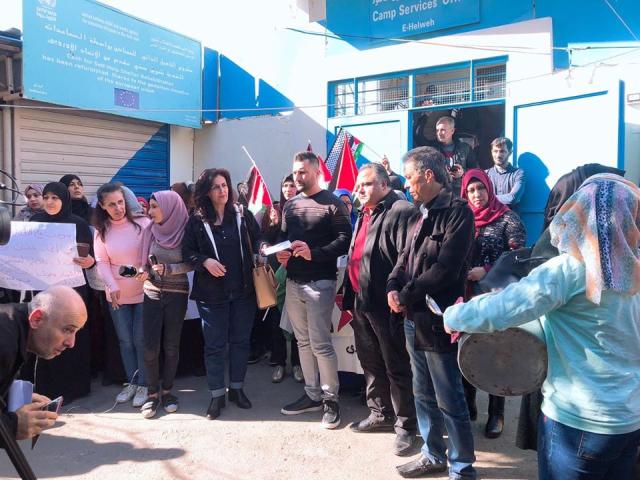 ندى تطالب الأونروا باعتماد كافة الاسر المعوزة ضمن برنامج شبكة الأمان الاجتماعي
