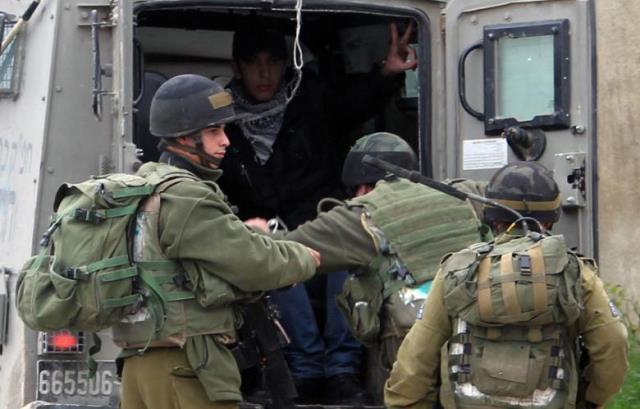 خلال عيد الأضحى : الاحتلال اعتقل (48) مواطنًا من الضفة