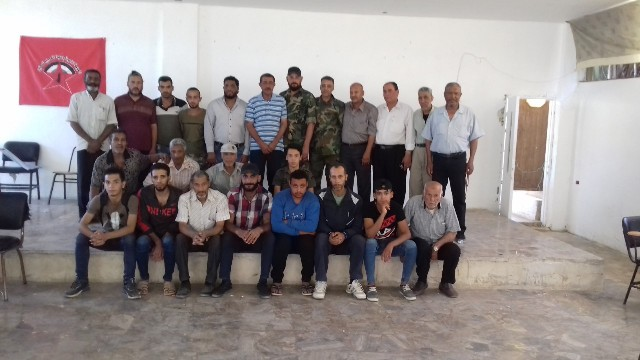 دمشق: اتحاد لجان الوحدة العمالية الفلسطينية  يختتم دورة التثقيف والتأهيل المركزية الثانية