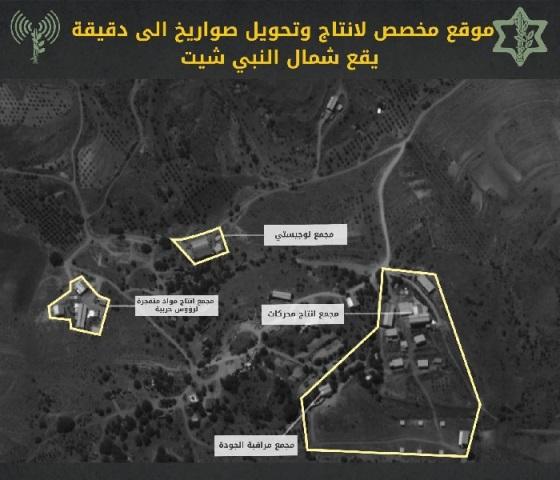 الاحتلال : حزب الله يمتلك مجمعات لإنتاج صواريخ بدقة 10 أمتار