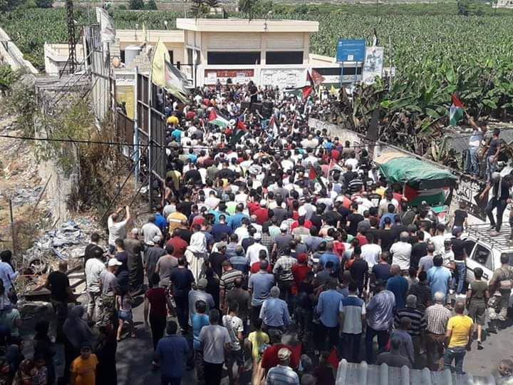 اللاجئون الفلسطينيون فى لبنان .. رحلة الألم والشقاء
