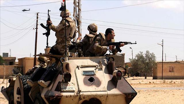 الداخلية المصرية تعلن مقتل خمسة مسلحين في العريش