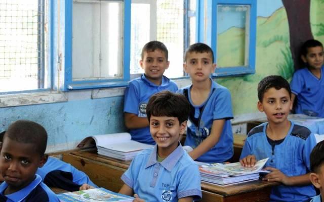 عمان : 120 ألف طالب فلسطيني من اللاجئين عادوا لمقاعد الدراسة