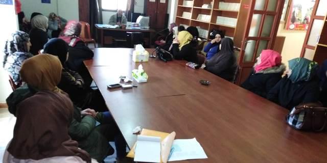 ندى تنظم  ندوة حول تقليص خدمات  الأنروا في مخيم نهر البارد