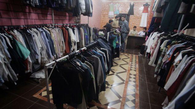 تصدير ملابس من غزة إلى الخارج