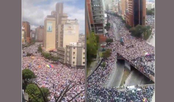 الرئيس الفنزويلي يعلن قطع علاقة بلاده الدبلوماسية مع الولايات المتحدة