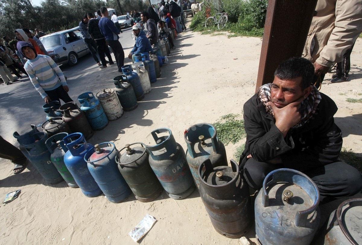 أزمة غاز الطهي تعود إلى الواجهة في غزة