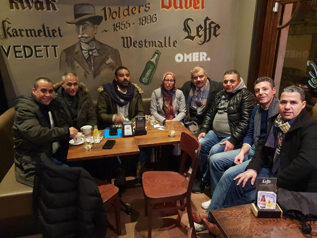 ممثل «الديمقراطية» يلتقي مندوبة «شؤون المغتربين» لبحث أوضاع الجالية الفلسطينية في بلجيكا