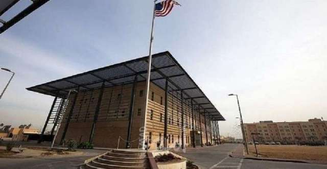 استهداف قاعدة للتحالف والسفارة الأمريكية في بغداد