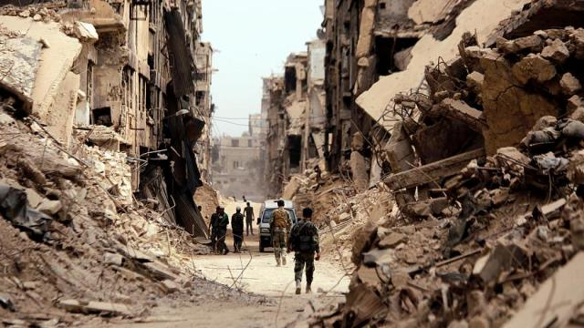 رؤى تخطيطية لمخيم اليرموك مدة تنفيذها 135 يومًا