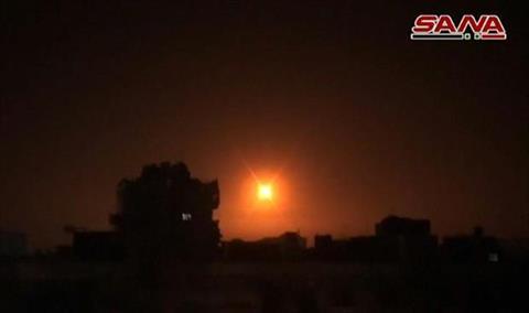 سانا: الدفاعات السورية  تصدت لعدوان إسرائيلي في تدمر