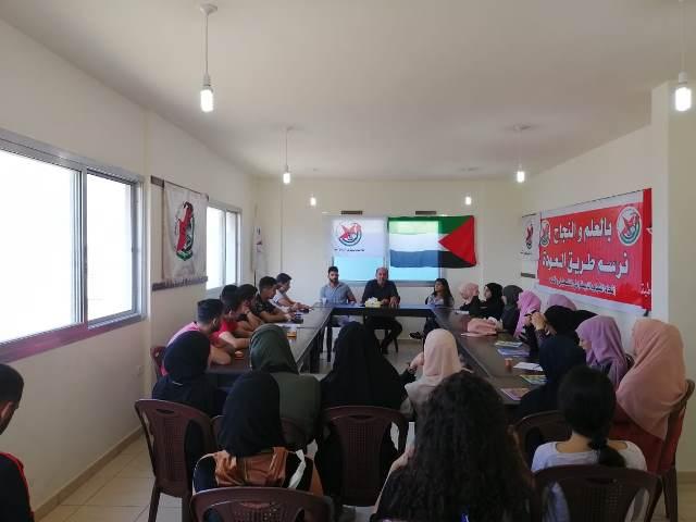 ورشة عمل لـ أشد في مخيم البارد تناقش هموم ومشكلات الشباب الفلسطيني