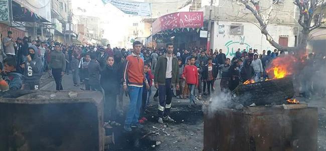 التجمع الديمقراطي الفلسطيني يستنكر الاعتداء على المواطنين والصحفيين بغزة ويطالب بتلبية طلبات المحتجين
