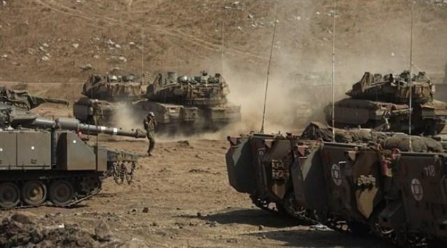 انطلاق تمرين مشترك لجيش الاحتلال الإسرائيلي والأمريكي