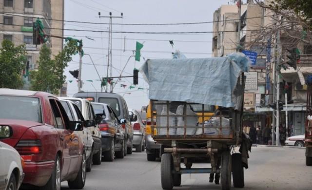 بلدية غزة  تنقل مكان سوق السيارات لمكان جديد