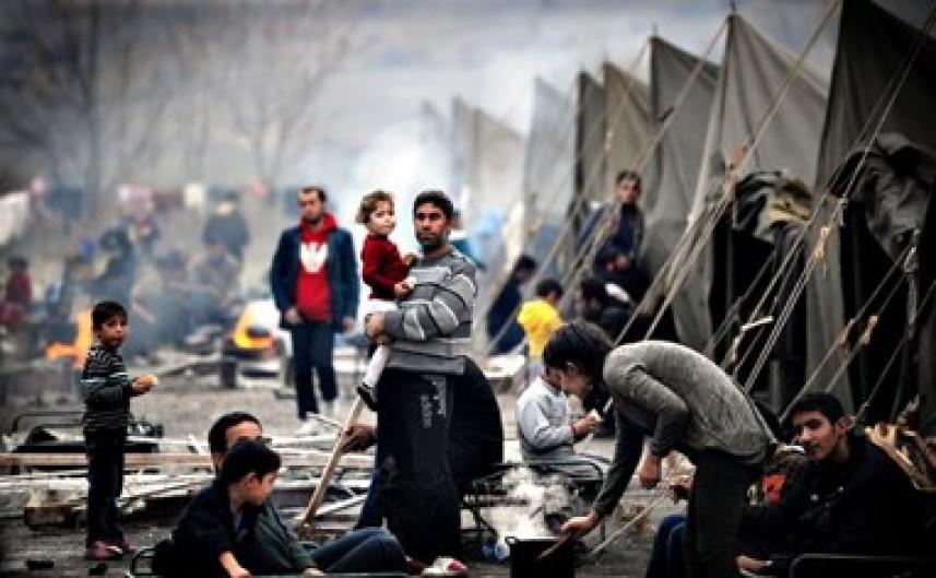 «الديمقراطية» : اللاجئون قضية ليست انسانية بل وطنية وعنوان الحقوق الوطنية