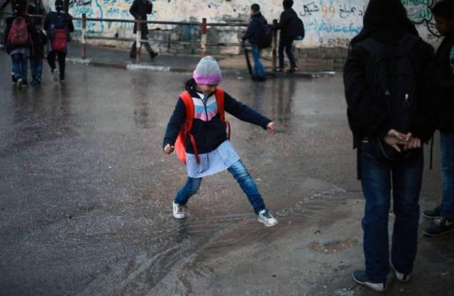 نسبة هطول الأمطار بغزة بلغت 55% من معدلها السنوي
