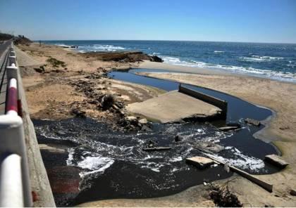 وقف ضخ المياه العادمة باتجاه البحر بغزة