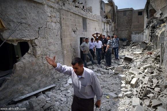 وفد منظمة التحرير يطلع على أوضاع مخيم اليرموك