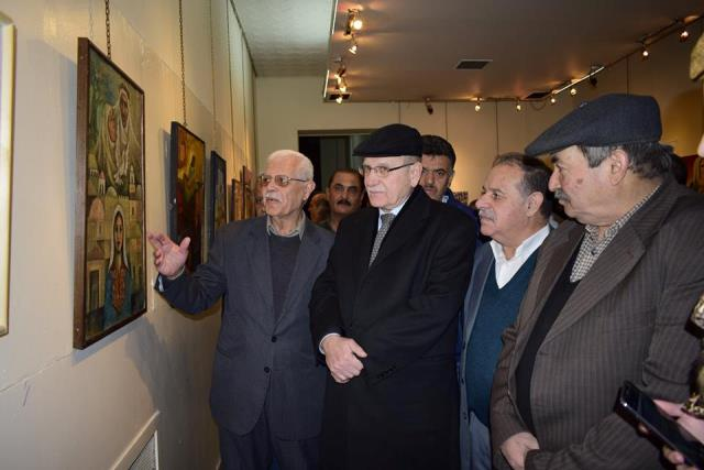 معرض في دمشق بالعيد الخمسين لانطلاقة الجبهة الديمقراطية