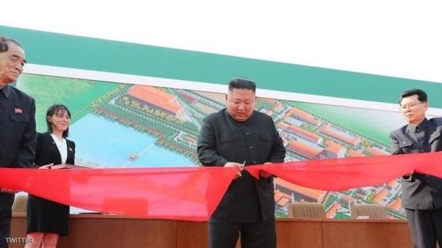أول ظهور علني لزعيم كوريا الشمالية