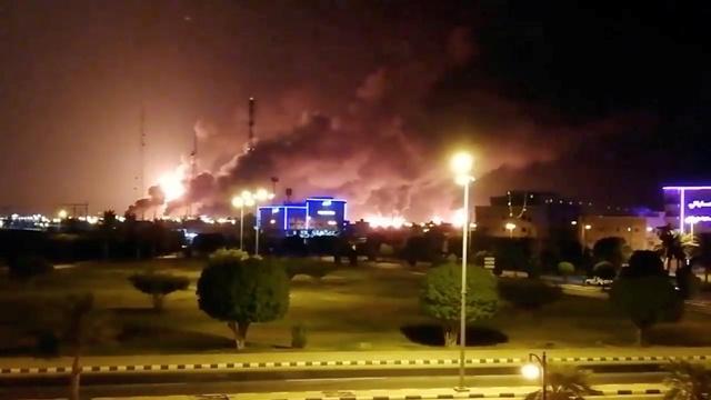 اميركا تتهم ايران بمهاجمة منشئات النفط السعودية