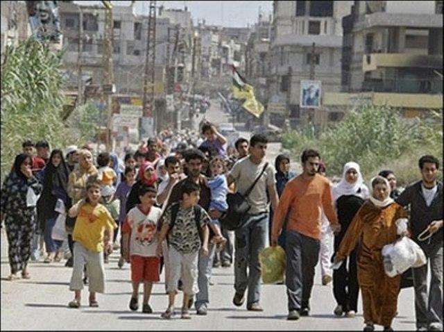 120 ألف فلسطيني غادروا سورية منهم 28 ألفاً إلى لبنان
