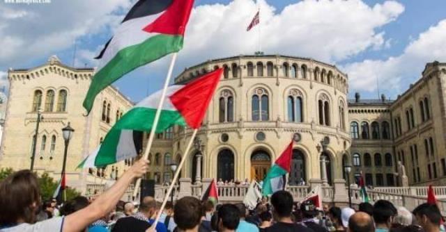 الجالية الفلسطينية في جنوب النرويج تحي نضالات الاسرى في معركة الكرامة 2
