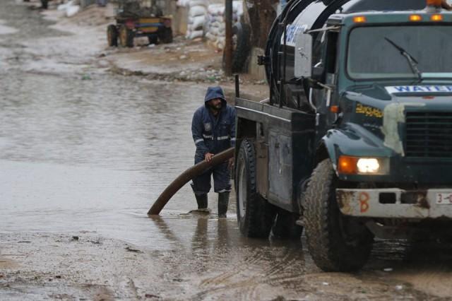 الأشغال: إنهاء الاستعدادات للمنخفض المقبل في الضفة