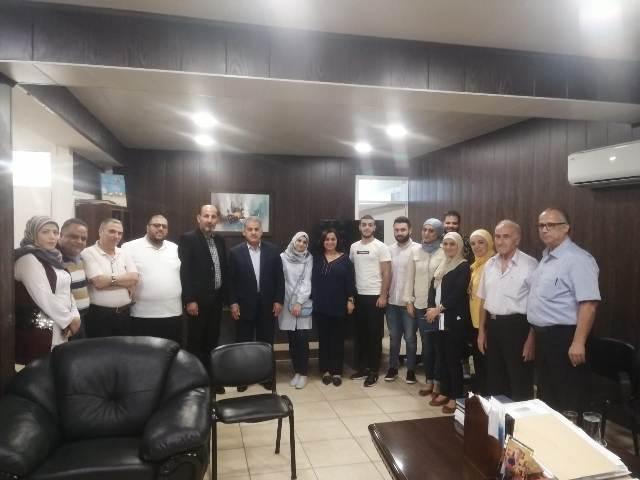 بيروت : أشد يبحث أزمة تسجيل الطلاب الفلسطينيين بالمدارس الرسمية في الجنوب