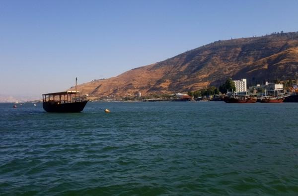 ارتفاع منسوب المياه في بحيرة طبريا لأكثر من نصف متر