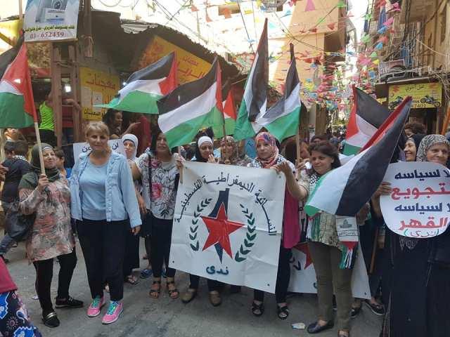 لبنان : اللاجئون  يستعدون لجمعة غضب ثالثة بعد مسيرات صيدا الحاشدة