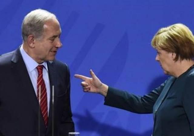 ميركل: حل الدولتين الأمثل لحل الصراع