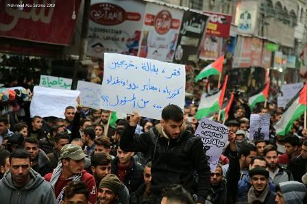 حراك «بدنا نعيش» يطالب بوقف الضرائب عن السلع والخدمات في قطاع غزة