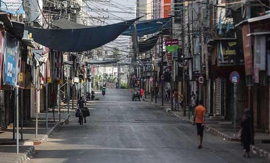 العمصي: 90% من عمال غزة تضرروا من «كورونا» وقدرت خسائرهم بـ 27 مليون دولار