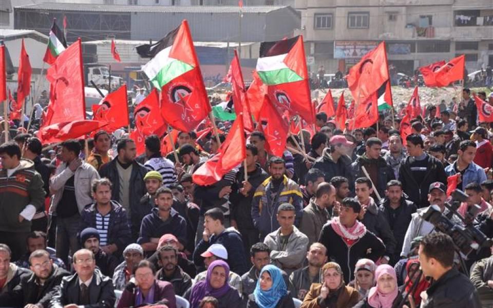 «الديمقراطية»: لن نكون شركاء في الحكومة الحالية ونعيد التأكيد على ما ورد في تصريحات أبو ليلى
